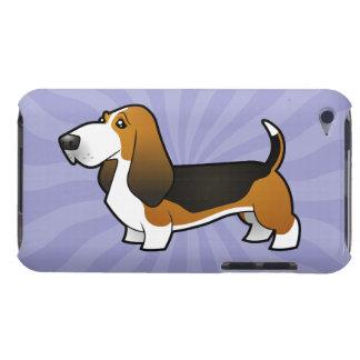 Cartoon Basset Hound iPod Case-Mate Case