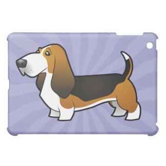 Cartoon Basset Hound iPad Mini Covers