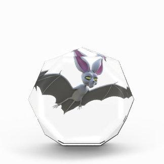 Cartoon Bat Flying Acrylic Award