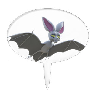 Cartoon Bat Flying Cake Topper