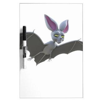 Cartoon Bat Flying Dry-Erase Board