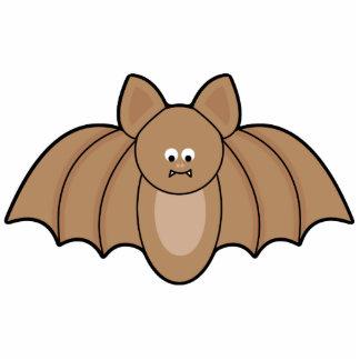 Cartoon Bat Halloween Ornament Photo Cut Outs