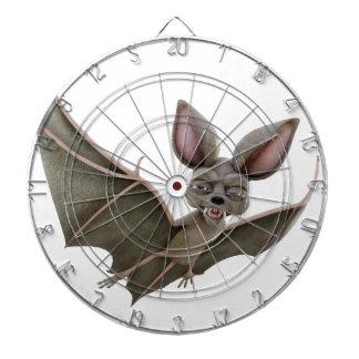 Cartoon Bat with Wings in Upstroke Dartboard