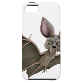 Cartoon Bat with Wings in Upstroke iPhone SE/5/5s Case