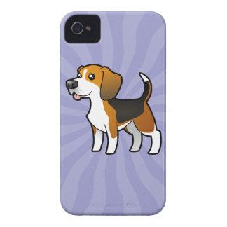 Cartoon Beagle iPhone 4 Covers