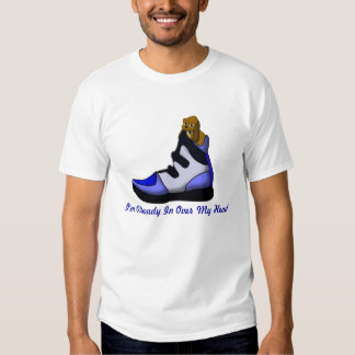 Cartoon Beagle In a shoe in over my head T Shirt