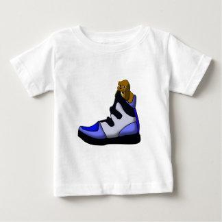 Cartoon Beagle In a shoe in over my head Tshirts