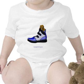 Cartoon Beagle In a shoe in over my head T Shirt
