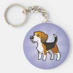 Cartoon Beagle Key Chain