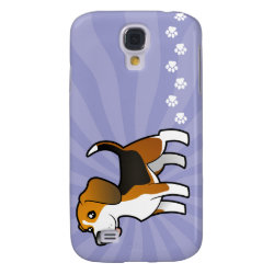 Case-Mate Barely There Samsung Galaxy S4 Case with Beagle Phone Cases design