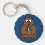 Cartoon Bear Key Chains