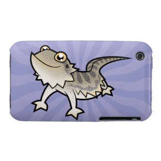Cartoon Bearded Dragon / Rankin Dragon Case-Mate iPhone 3 Case