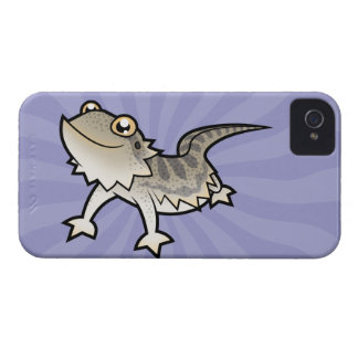 Cartoon Bearded Dragon / Rankin Dragon Case-Mate iPhone 4 Case