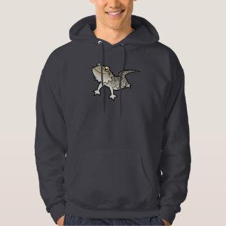 Cartoon Bearded Dragon / Rankin Dragon Hooded Sweatshirt