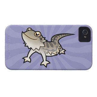 Cartoon Bearded Dragon / Rankin Dragon iPhone 4 Cover