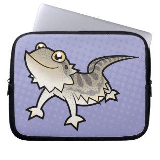 Cartoon Bearded Dragon / Rankin Dragon Laptop Sleeve