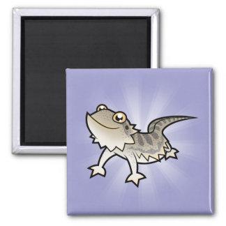 Cartoon Bearded Dragon / Rankin Dragon Refrigerator Magnets