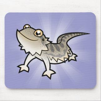 Cartoon Bearded Dragon / Rankin Dragon Mousepads