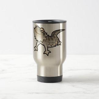 Cartoon Bearded Dragon Rankin Dragon Coffee Mugs