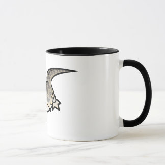 Cartoon Bearded Dragon / Rankin Dragon Mug