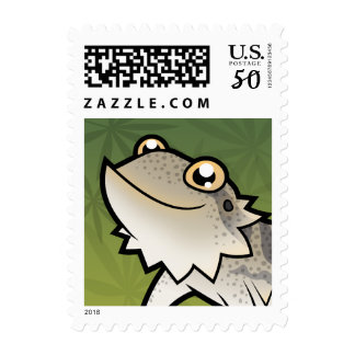 Cartoon Bearded Dragon / Rankin Dragon Postage