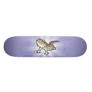 Cartoon Bearded Dragon / Rankin Dragon Skateboard