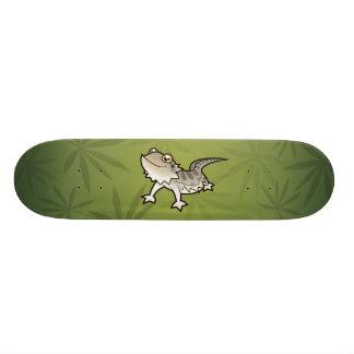 Cartoon Bearded Dragon / Rankin Dragon Skateboard Deck