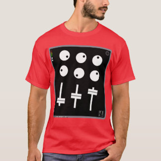 Cartoon Beats Wonk Mixer Guy T-Shirt