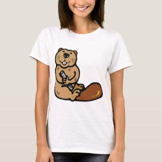 Cartoon Beaver for International Beaver Day T-Shirt