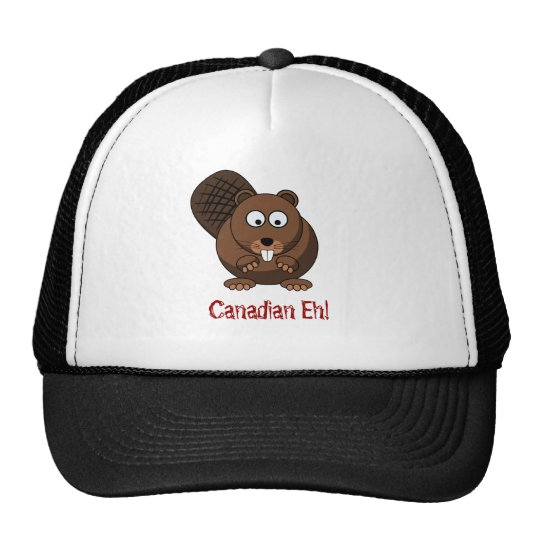 Cartoon Beaver Hat