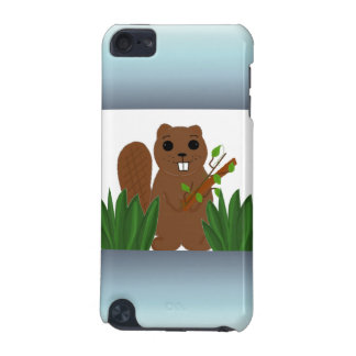 Cartoon Beaver iPod Touch 5G Cover