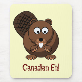 Cartoon Beaver Mousepad