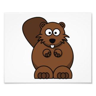 Cartoon Beaver Photo Art