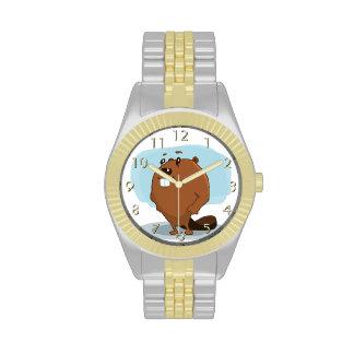 Cartoon Beaver Watch