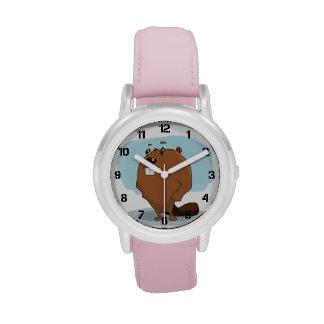 Cartoon Beaver Watches