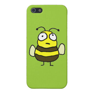 Cartoon Bee Cover For iPhone SE/5/5s