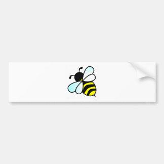 Cartoon Bee/Honeybee Bumper Sticker