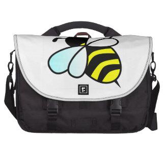 Cartoon Bee Honeybee Bags For Laptop