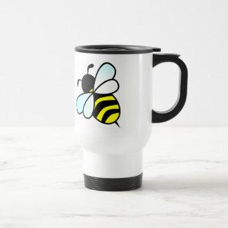 Cartoon Bee/Honeybee Travel Mug