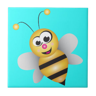 Cartoon Bee Tile
