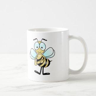 Cartoon Bee - White Coffee Mug