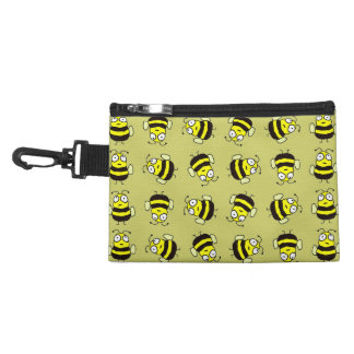 Cartoon Bees Accessory Bag