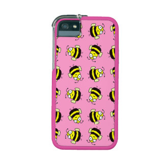 Cartoon Bees Case For iPhone 5