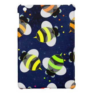 Cartoon Bees Flying Cover For The iPad Mini