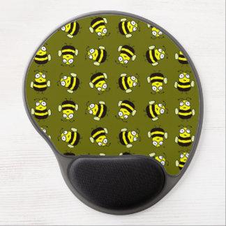 Cartoon Bees Gel Mouse Pad