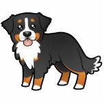 Cartoon Bernese Mountain Dog Photo Sculpture Magnet