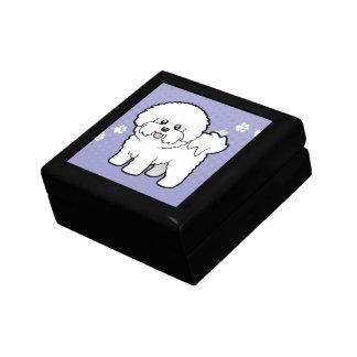 Cartoon Bichon Frise Jewelry Box