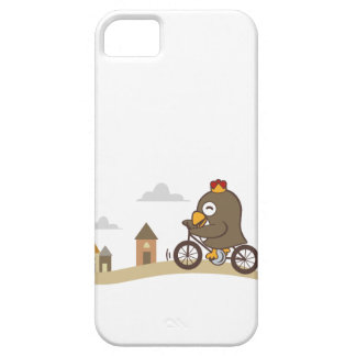 Cartoon Bicycle iPhone SE/5/5s Case