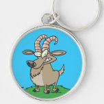 cartoon billy goat key chains