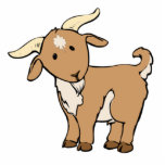 Cartoon Billy Goat Photo Cut Outs